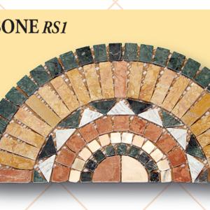 1/2 Rosone RS1 cm 60 x 30