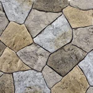 Pannello in pietra ricostruita naturale - Adamello