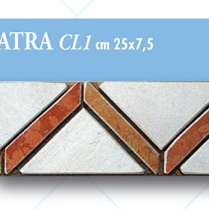 Listello Cleopatra CL1 cm 25 x 7,5