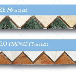 Listello Firenze cm 25 x 3,5