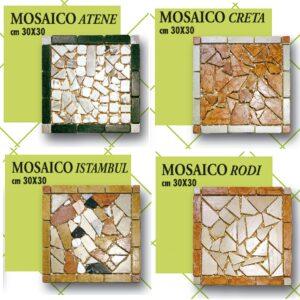 Mosaico cm 30 x 30