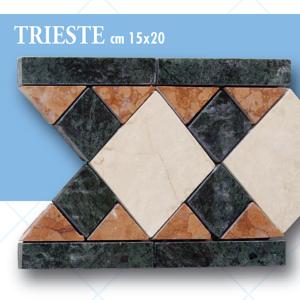 Listello Trieste cm 15 x 20